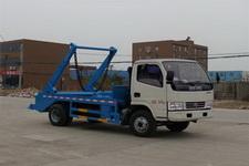 程力威牌CLW5070ZBSD5型摆臂式垃圾车图片