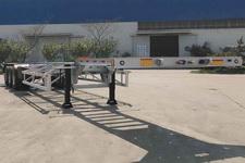 中集14.9米35.3吨3轴集装箱运输半挂车(ZJV9407TJZQDL)