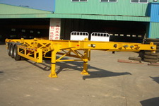 港粤12.4米33.1吨3轴集装箱运输半挂车(HSD9400TJZG)
