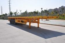 港粤12.4米33吨3轴平板运输半挂车(HSD9400TPB)