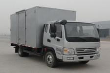 开瑞绿卡国四单桥厢式运输车110马力5吨以下(SQR5040XXYH30D)