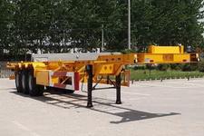 梁翔15米34吨3集装箱运输半挂车