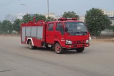 江特牌JDF5072GXFSG20/E型水罐消防车