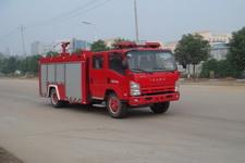江特牌JDF5102GXFSG30型水罐消防车