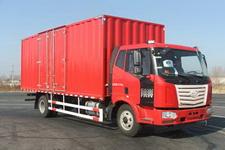 一汽柳特国四单桥厢式运输车160-173马力5-10吨(LZT5161XXYPK2E4L5A95)