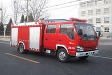 中卓时代牌ZXF5070GXFSG20/W型水罐消防车