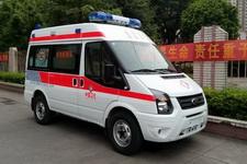 白云牌BY5042XJH型救护车图片