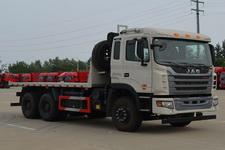 江淮后双桥,后八轮平板自卸车国五350马力(HFC3251P1K6E39S3V)