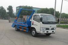 国五东风轻卡4方摆臂式垃圾车