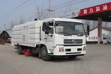 程力威牌CLW5168TSLD5型扫路车