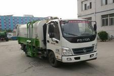 北重电牌BZD5049ZZZE5型自装卸式垃圾车图片