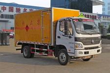 程力威牌CLW5081XRYB5型易燃液体厢式运输车