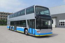 安凯牌HFF6122GS03EV型纯电动双层城市客车图片
