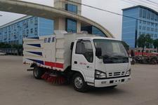 程力威牌CLW5070TSLQ5型扫路车