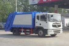 程力威牌CLW5120ZYSE5型压缩式垃圾车