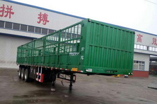 齐鲁宏冠牌GHG9400CCY型仓栅式运输半挂车图片