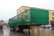 齐鲁宏冠牌GHG9401CCYE型仓栅式运输半挂车图片