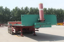 庄宇8.5米31.5吨3平板自卸半挂车