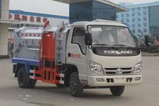 尉犁县垃圾车在那里买 福田时代4方挂桶垃圾车 厂家直销 厂家价格 来电送福利