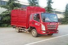 四川现代国四单桥仓栅式运输车109-143马力5吨以下(CNJ5041CCYZDB33M)