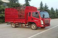 四川现代国四单桥仓栅式运输车109-143马力5吨以下(CNJ5040CCYZDB33M)