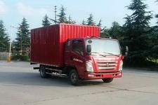 四川现代国四单桥厢式运输车109-143马力5吨以下(CNJ5080XXYZDB33M)