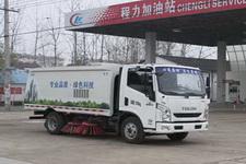程力威牌CLW5070TSLN4型扫路车
