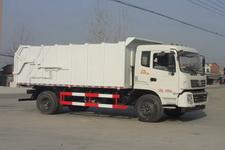 程力威牌CLW5166ZDJT4型压缩式对接垃圾车
