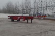 华盛顺翔牌LHS9150TJZ型空载集装箱运输半挂车图片