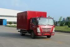 四川现代国四单桥厢式运输车131-143马力5吨以下(CNJ5043XXYZDB33M)