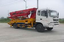 国五东风混凝土泵车