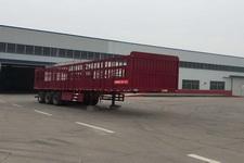 豫前通11米30.8吨3仓栅式运输半挂车