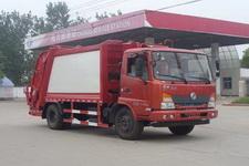 程力威牌CLW5110ZYST4型压缩式垃圾车