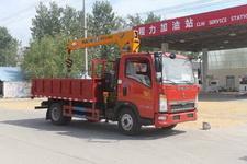 CLW5040JSQZ4型程力威牌随车起重运输车图片