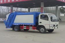 国五东风轻卡6方压缩式垃圾车