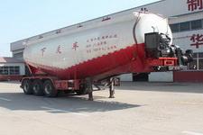 庄宇9米31.6吨3下灰半挂车