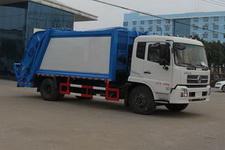程力威牌CLW5161ZYSD5型压缩式垃圾车