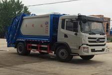 程力威牌CLW5160ZYSS5型压缩式垃圾车