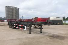神狐13米32.7吨3轴集装箱运输半挂车(HLQ9401TJZ)