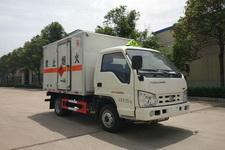 SGZ5038XRQBJ4型华威驰乐牌易燃气体厢式运输车图片