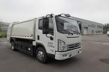 华林牌HLT5075ZYSEV型纯电动压缩式垃圾车图片