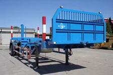 中油8.5米11.2吨1轴运材半挂车(ZYT9150TYA)