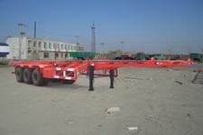 唐鸿重工牌XT9360TJZG型骨架式集装箱运输半挂车图片