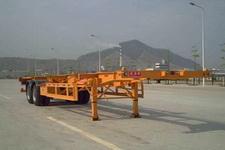 蛇口港机牌SGJ9350TJZG型集装箱运输半挂车
