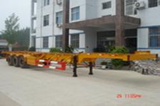国世华邦牌XHB9370TJZG型鹅颈式集装箱运输半挂车图片
