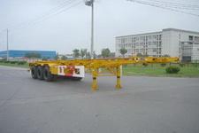 通华12.4米30.5吨3轴集装箱运输半挂车(THT9370TJZL)