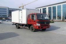 福田欧马可国四单桥厢式运输车156马力5吨以下(BJ5059VBCEA-FA)