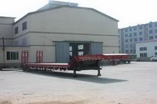 铮铮16米28.5吨4轴低平板半挂车(YAJ9401TDP)