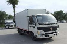 福田欧马可国四单桥厢式运输车118-150马力5吨以下(BJ5049V8BD6-FB)