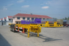 华昌牌QDJ9402TJZG型骨架式集装箱运输半挂车图片